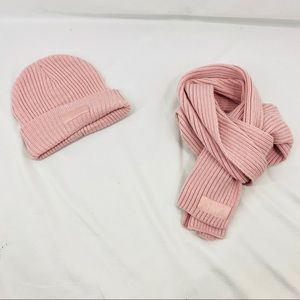 Victoria's Secret PINK Beanie and Scarf Set